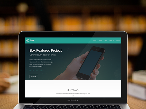 Box Responsive Theme Foundation Deck